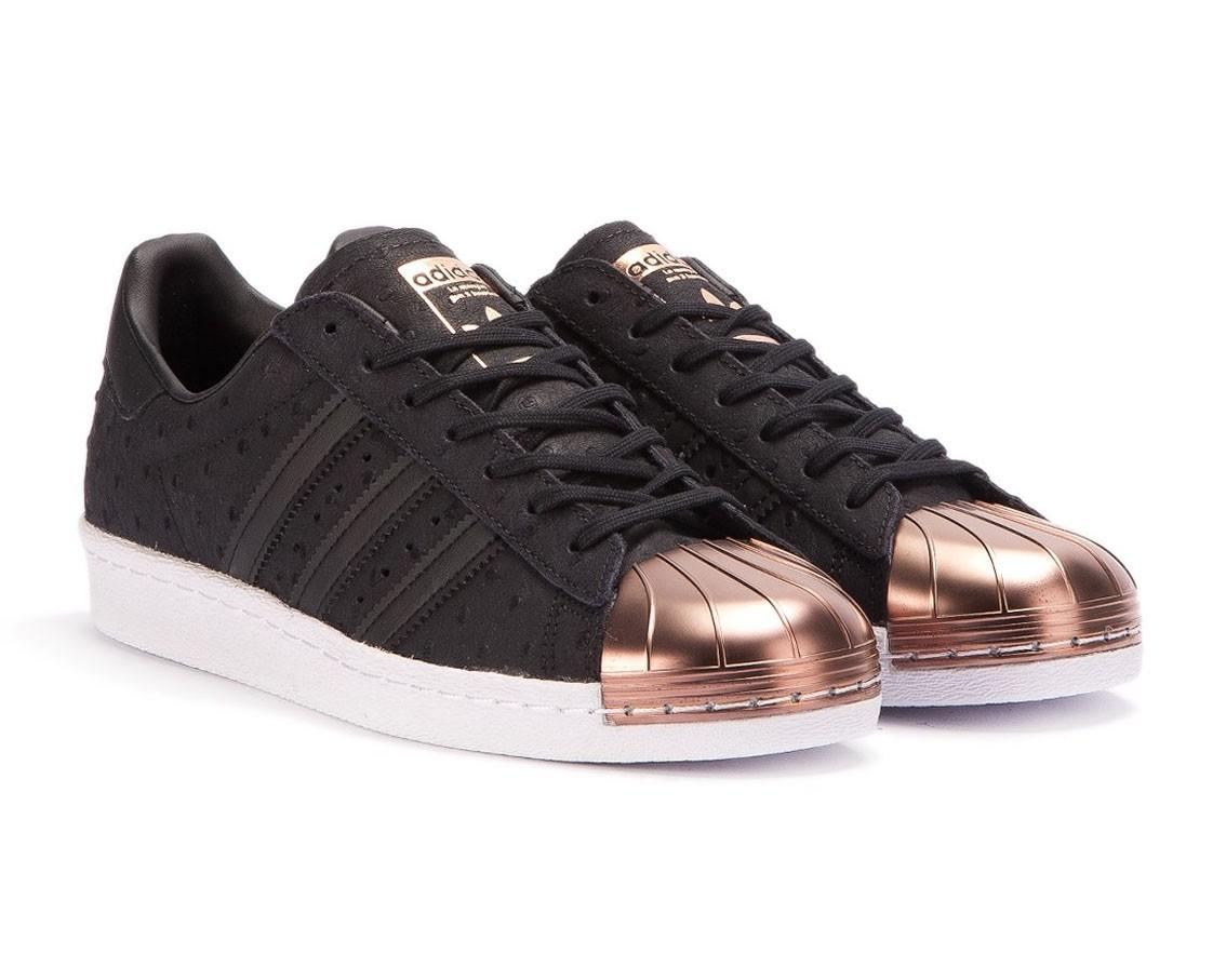 adidas superstar noir et rose gold